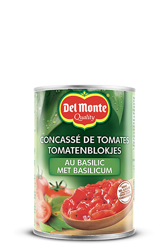 Chopped Tomatoes with Basil
